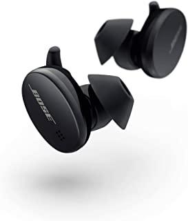 Bose 运动耳塞 - True 无线耳机(适用于锻炼和运动的蓝牙耳机),三重黑色