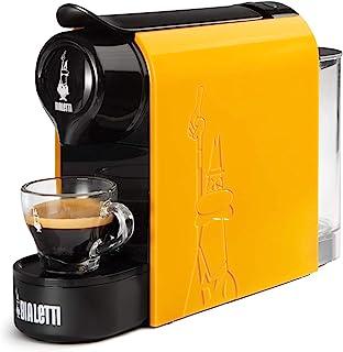Bialetti Gioia,铝制胶囊咖啡机,Bialetti la Caffèd'Italia,超紧凑,Ocra