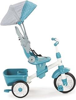 Little Tikes 完美贴合4合1三轮车 蓝绿色