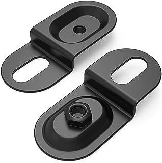 AUTO-VOX 钢制扁平标签支架,适用于车牌 Soalr1 无线备用相机