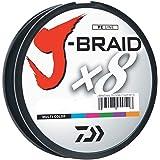 Daiwa J-Braid 500M 8股编织圆形编织线