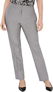Kasper 女士加大码人字呢及踝连衣裙裤灰色 18
