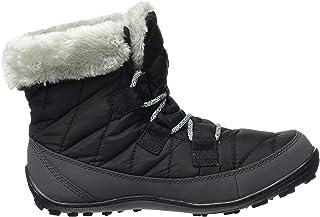 Columbia 女童 Youth Minx 短款 Omni-Heat 防水雪地靴