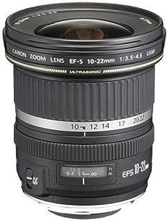 Canon 佳能 EF-S 10-22 mm f/3.5-4.5 USM 镜头 黑色