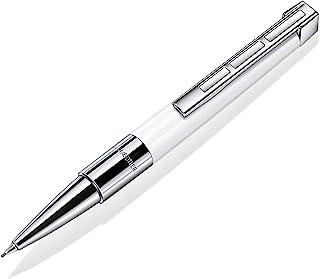 Staedtler 施德楼 Initium Resina 旋转铅笔 白色珍贵树脂 0.7 毫米 HB,高贵礼品包装 9PB41007