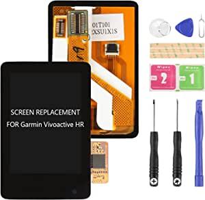 替换原装液晶显示屏玻璃触摸屏,适用于 Garmin Vivoactive HR TC