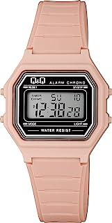 [西铁城 Q&Q] 手表 数字 多功能 防水 M173J018 女款 粉色