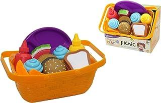 Kidz 439228 垃圾桶 带柔软食物 多色