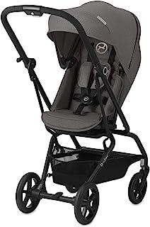 Cybex Gold Eezy S 可旋转儿童推车 360°旋转座椅 超紧凑 质量轻 0-17 公斤 颜色2019 灰色(曼哈顿灰色)