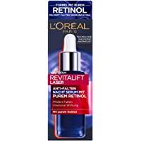 L'Oréal Paris 巴黎欧莱雅 Revitalift Laser 复颜光学系列 抗皱锁龄夜间精华 含纯视黄醇/玻…