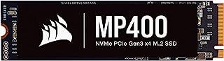 CORSAIR 海盗船 MP400 1TB Gen3 PCIe x4,NVMe M.2 SSD(读取速度高达 3,400 MB/s 以及连续写入速度高达 3,000 MB/秒,高* 3D TLC NAND)黑色
