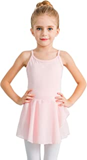 stelle 女孩棉质吊带背心连衣裙紧身连衣裤适用于舞蹈 gymnastics 和芭蕾舞鞋幼儿/小女孩/大女孩