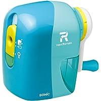 Sonic 铅笔刀 Toga Return 手动铅笔刀 本体サイズ:W84xH121xD141mm/316g 浅蓝色
