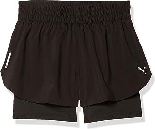 PUMA 彪马 女式 2 合 1 跑步短裤