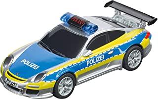 Carrera 64174 保时捷 911 Polizei 1:43 比例模拟插槽赛车适用于 Carrera GO!!! 插槽赛车轨道