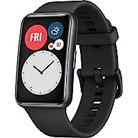 Huawei 华为 WATCH FIT 智能手表,1.64英寸AMOLED显示屏,快速切屏,10天续航时间,96种训练模…