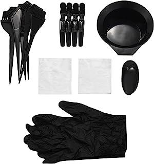 SODIAL 20 件*套装,*碗,染料刷,耳套,DIY 沙龙*剂的手套
