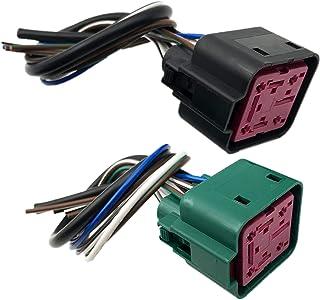ALLMOST SET 2 适用于 6.0 6.4 7.3 Powerstroke Diesel 发光插头控制模块 GPCM 猪尾连接器 4C3Z-12B568-AA YC3Z-12B533-AA DY876 YC3Z12B533AA