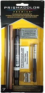 Sanford 三福 Prismacolor Premier彩色铅笔配件包,配有卷笔刀和橡皮擦,7件套