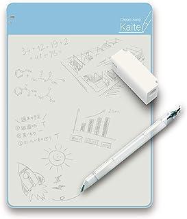 PLUS 普乐士 记事本 Clean note Kaite B5 (無地) 本体サイズ:W183xH257xD3mm/無地/B5/180g 蓝色