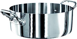 Pentole Agnelli 铝箱 1907 砂锅,带2个把手,直径 - 24 厘米。