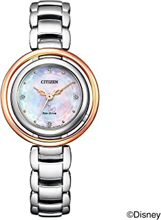 "Citizen 手表 迪士尼系列 ""WINNIE THE POOH""限量款500只 EM0665-57W 女款 暖金色"