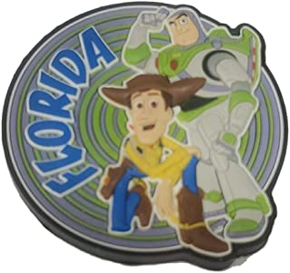 Disney Toy Story Florida Woody and Buzz 光年冰箱磁贴