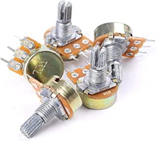 5 件 5K OHM 3 端子线性锥形旋转音频 B 型电位器