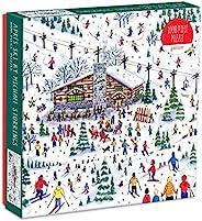 Galison Michael Storrings Apres 滑雪 1000 片拼图