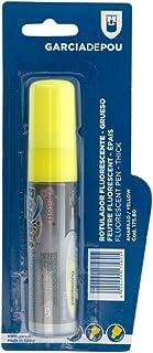 Garcia de Pou 毛毡荧光笔,14.7 x 2.8 厘米,黄色,均码