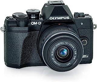 Olympus 奥林巴斯 OM-D E-M10 Mark IIIs 黑色机身 M.*ko Digital 14-42mm F3.5-5.6 IIR 镜头,V207111BU000