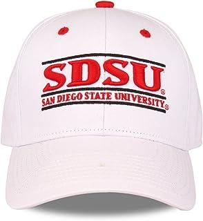 圣地亚哥州阿兹特克斯成人游戏栏可调节帽子 - 白色,
