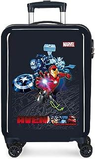 Marvel 漫威 硬壳箱 复仇者联盟 盔甲 蓝色 38x55x20 cm