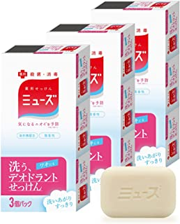 Muse【准*】 Deodorant 固体皂 肥皂 3个×3个