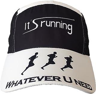Headsweats Race Hat Special It's running 跑步帽,黑色/白色 均码