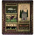 Manual The Lodge Collection 50 x 60-Inch Tapestry Throw,…