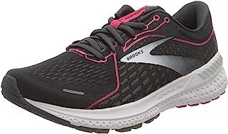 Brooks 女式 Adrenaline GTS 21 跑鞋, Black/Raspberry Sorbet/Ebony, 10 UK