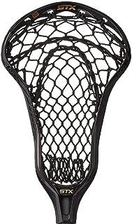 STX Lacrosse Crux 600 Strung Head 带 Crux Mesh Pro 口袋,黑色/黑色