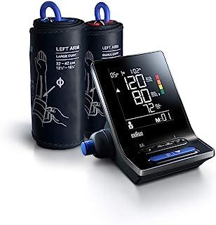 Braun BUA6350EU ExactFit 5 Blutdruckmessgerät mit zwei Manschettengrößen für Passgenauigkeit