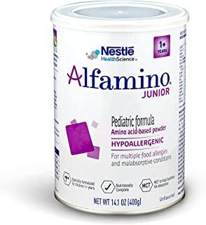 alfamino 恩敏舒儿童氨基酸奶粉,无味,14.1盎司(400克) 罐