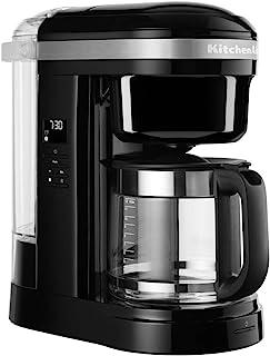 KitchenAid 5KCM1208BOB Drip 咖啡机 带螺旋淋浴头 - 缟玛瑙黑色