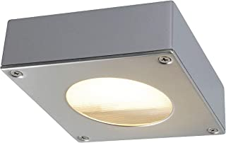 SLV LED 壁灯 QUADRASYL 适用于天花板,墙壁,道路,入口,LED 射灯,壁灯,上灯,户外灯,花园灯,路灯,GX53,9 W *大,EEK B-A++