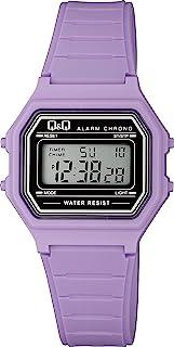 CITIZEN 西铁城 Q&Q 手表 数码显示 多功能 防水 M173J015 女士 紫色