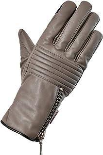 Rosso StyleLab 摩托车手套 保护皮革手套 TAUPE S RSG-315