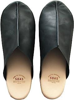 NAKA 中商事 SOAS 室内鞋 真皮 日本制造