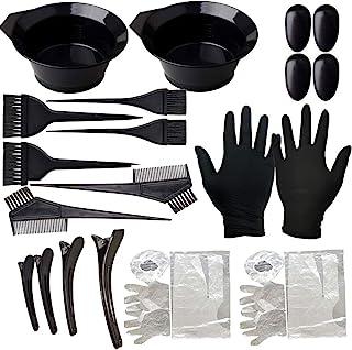*套装,lonstin 22 件染色*套装美发工具,*着色碗,梳子,耳罩,DIY 沙龙*工具