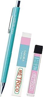樱花彩色笔 自动铅笔 レトリコ 0.5mm セットBD 蓝色 NS205RFK-3BD