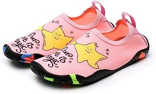 Fine Beifang 儿童涉水鞋速干防滑皮肤赤脚游泳夏季鞋男孩女孩