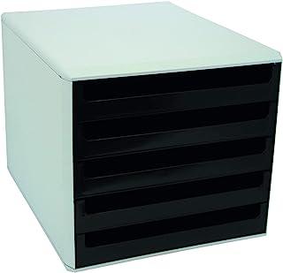 Metzger & Mendle 30050901 抽屉盒带 5 个抽屉 黑色
