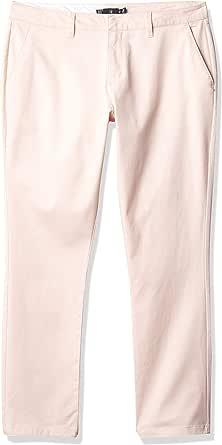 Volcom 女式青少年青蛙经典斜纹棉布裤